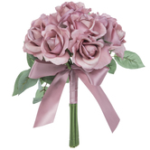 Mauve Carolina True Touch Rose Bouquet