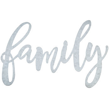 Family Galvanized Metal