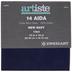 Navy 14-Count Aida Cross Stitch Fabric - 11 3/4
