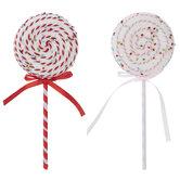 Pink & Red Swirl Lollipop Picks