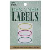 Bright Ornate Oval Designer Labels