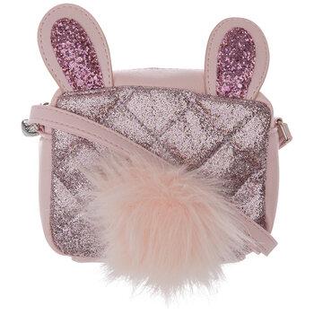 Pink Glitter Bunny Bag