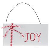 Joy Plank Ornament
