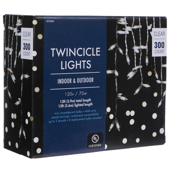 Clear Twincicle Lights