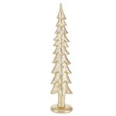 Gold Glitter Tree - Medium