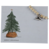 Merry Christmas Wood Decor With Clip