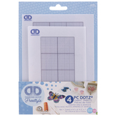 Freestyle Grid Diamond Dotz Adhesive Fabric Sheets