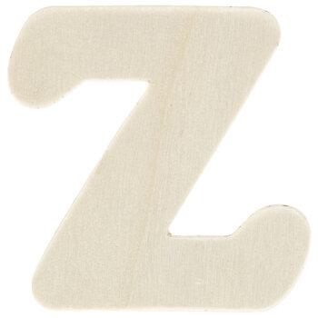"Wood Letters Z - 1 3/4"""