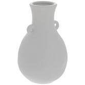 White Dimpled Vase