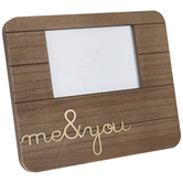 "Me & You Wood Frame - 4"" x 6"""