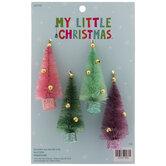 Mini Sisal Tree Ornaments