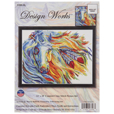 War Horse Counted Cross Stitch Kit