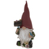 Red Gnome With Welcome Sign