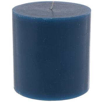 "Tranquil Waters Pillar Candle - 4"" x 4"""