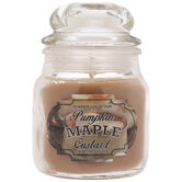 Pumpkin Maple Custard Jar Candle