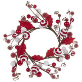 Peppermint Twig Candle Ring