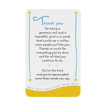 Thank You Wallet Card