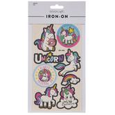 Unicorn Canvas Iron-On Appliques