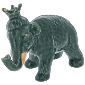 Green & Gold Royal Elephant