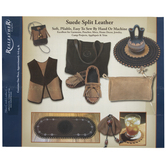 Medium Brown Suede Split Leather