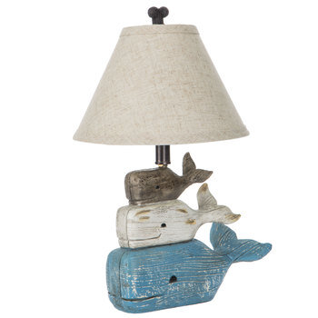 Stacked Whales Lamp