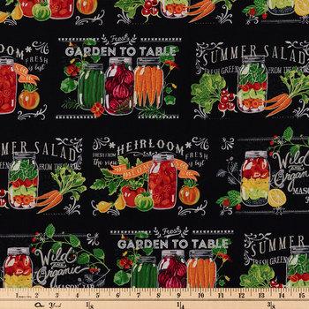 Garden To Table Cotton Calico Fabric
