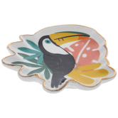 Tropical Toucan Jewelry Dish