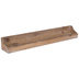 Brown Distressed Wood Wall Shelf