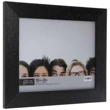 Black Flat Wood Look Frame