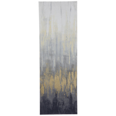 Ombre Vertical Canvas Wall Decor