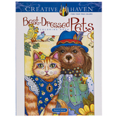 Best-Dressed Pets Coloring Book