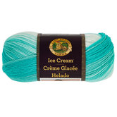 Mint Lion Brand Ice Cream Yarn