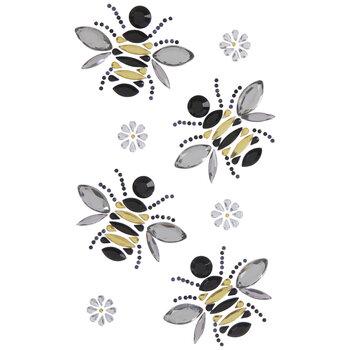 Bee & Daisy Rhinestone Stickers