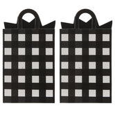 Black & White Buffalo Check Package Gift Card Holders