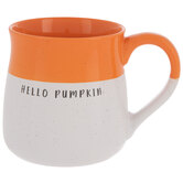 Hello Pumpkin Two-Tone Mug