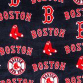 MLB Boston Red Sox Fleece Fabric