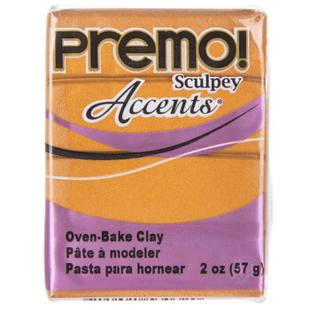 Gold Premo! Accents Clay - 2 Ounce