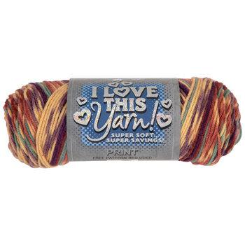 Jazzed Stripe Print I Love This Yarn