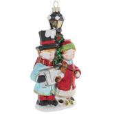 Carolers & Lamp Post Ornament