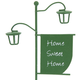 Home Sweet Home Metal Sign
