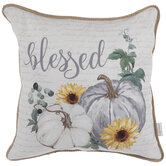 Blessed Pumpkins Pillow Cover