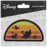 The Lion King Sunset Iron-On Applique