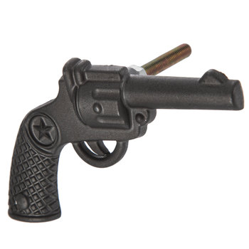 Black Pewter Revolver Knob