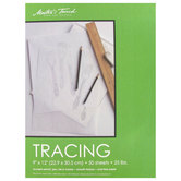 """Master's Touch Tracing Paper Pad - 9"""" x 12"""""""