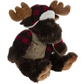 Plush Moose With Vest