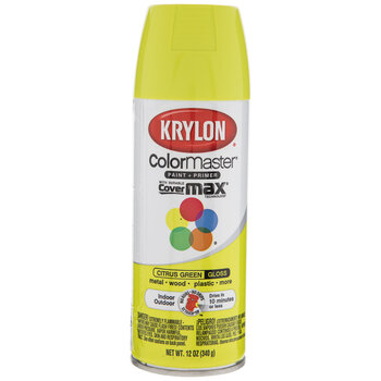 Citrus Green Krylon ColorMaster Gloss Spray Paint & Primer