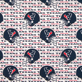 NFL Houston Texans Cotton Fabric