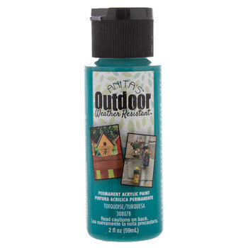 Turquoise Anita's Outdoor Weather Resistant Acrylic Paint
