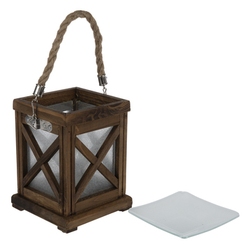 Wood Lantern Fragrance Warmer