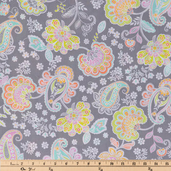 Oh Yay Paisley Cotton Apparel Fabric